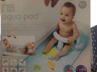 Mothercare Aqua Pod bath support (in box)