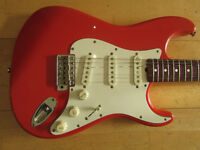 Tokai Springy Sound Stratocaster. Made in Japan, early 80's. USA pickups. Recent pro set-upCan post.