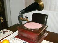 H M V Gramophone Box