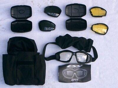 ESS-Advancer V12  ballistische Schutzbrille, USMC,SAS, NEU