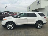 2015 Ford Explorer Limited  AWD Fully Loaded, Under 20,000 KM, H