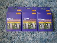 Hoya UV and ND Filters (58 mm) - $15 per filter