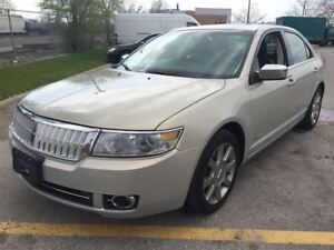 2009 Lincoln MKZ Leather  Sunroof Cooled Seats 