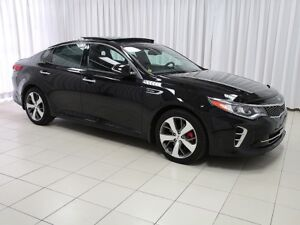 2017 Kia Optima SXL 2.0 L TURBO. LUXURY PERFORMANCE SEDAN - LOW