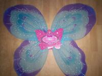 fancy dress princess fairy wings