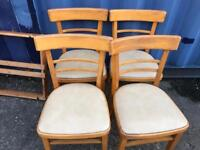 Retro table and 4 chairs FREE DELIVERY PLYMOUTH AREA