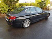 BMW 520D SE 4 Door Saloon Diesel Automatic July 2012 Black 1995cc