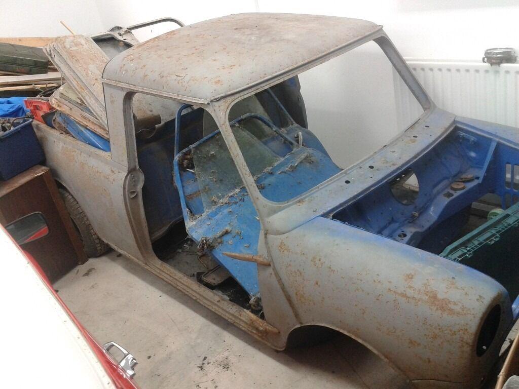 Classic Mini Pickup Parts For Sale Mk1 Mk2 Mk3 In