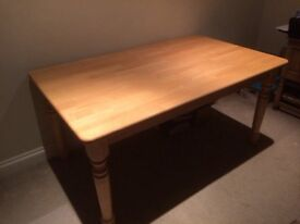 Wood table 5x3 ft