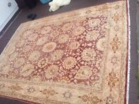 EXCLUSIVE AFGHAN HAND KNOTTED ORIENTAL RUG