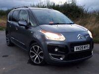 2009 09 Citroen C3 Picasso Exclusive 1.6 HDi Turbo Diesel, Rear Sensors, Panoramic Roof