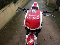 Ktriumph race bike street fighter