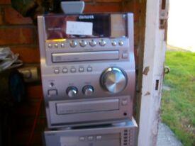 AIWA STEREO SHELF SYSTEM XR-EM70