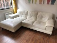 DFS L Shaped Leather Sofa