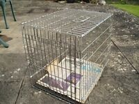 SMALL ANIMAL TRAVELLING BOX/CAGE