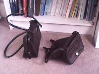 2 black bags
