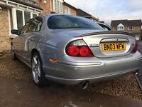 2003 Jaguar S Type R Plus