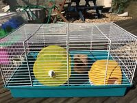 Hamster Cage complete with accessories