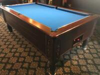 Pool table - brand new cloth - ask about delivery - pub pool table