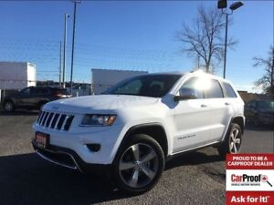2016 Jeep Grand Cherokee LIMITED**LEATHER**SUNROOF**NAV**BACK UP