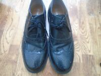 leather brogues size 7