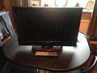 "Luxor 22"" tv combi & DVD player"