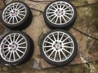 "Toyota Alloy wheels 17 auris avensis camry corolla MR2 previa rav4 supra verso 5x114.3 "" inch alloys"