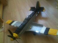 Lego Mega Blocks P51 Mustang