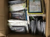 Job lot of iPad and other branded cases