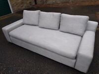 Grey pre owned sofa