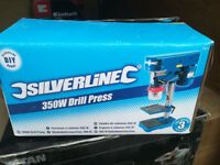 Silverline bench drill