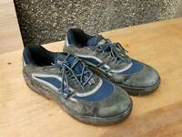 Steel toe capped work trainers