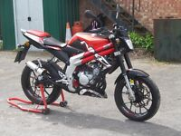 2013 RIEJU RS3 50 NKD NAKED 50CC MOPED LEARNER LEGAL LOW MILEAGE LONG MOT DELIVERY AVAILABLE