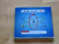 Club cuts dance music CDs 1997. 50p