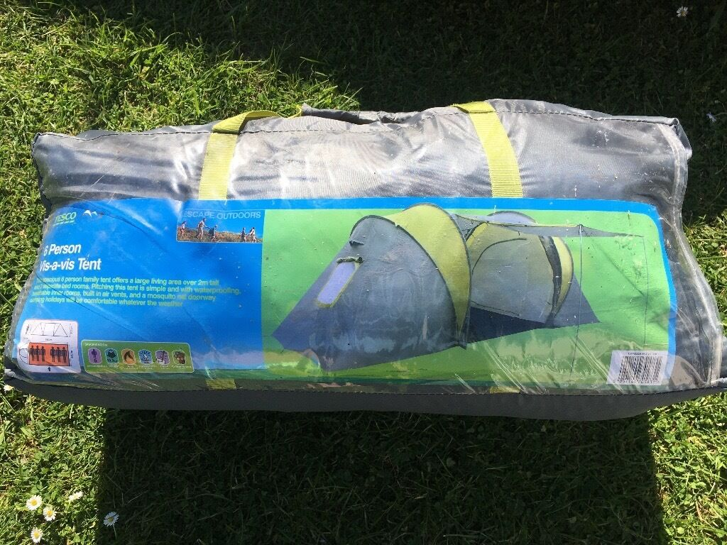 Buy regatta 6-man atlin vis-a-vis tunnel tent red from our family.