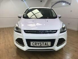 FORD KUGA 2.0 TITANIUM X TDCI 5d 138 BHP PANORAMIC ROOF + 6 (white) 2014