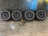 Bmw Mini 17 inch alloy wheels and tyres