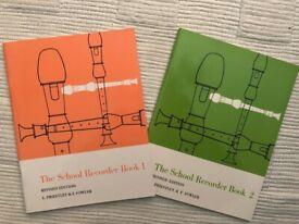 Beginner recorder books - perfect condition