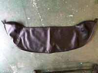 MGF Tonneau Cover, Black