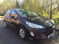 PEUGEOT 308 S 120 5 DOOR HATCHBACK NEW SHAPE FULL MOT NO ADVISORIES FIRST TO SEE WILL BUY