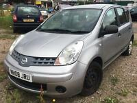 Nissan Note 1.4 2008 + LPG CONVERTED + SPARES AND REPAIRS