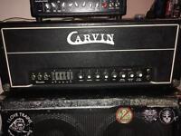 Carvin X100B 100W 6L6 Valve Head Modified like JCM 800