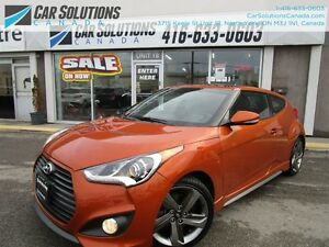 2015 Hyundai Veloster Turbo-Navi-Leather-sunroof