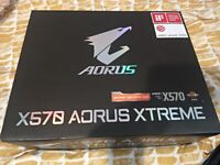 GIGABYTE X570 XTREME MOTHERBOARD RYZEN 5000 ETC SOCKET AM4 AMD