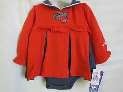 1ffc63c72 Charlotte Bobcats NBA Basketball Reebok Baby Girl 3-6 Months Cheerleader  Dress