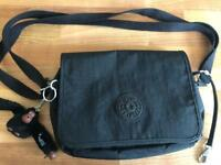Kipling black handbag genuine new without tags