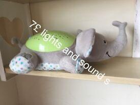 Elephant lights and sounds