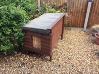 Chicken coop rabbit hutch