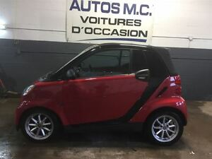 2010 smart fortwo convertible(garantie 1 an inclus