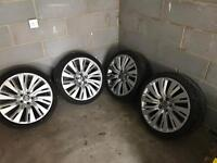 "Vauxhall insignia wheels 20"" (elite) with 4 good tyres."